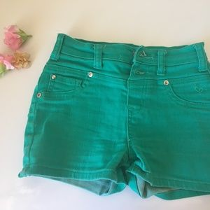 Justice Premium High-Waisted Jean Shorts